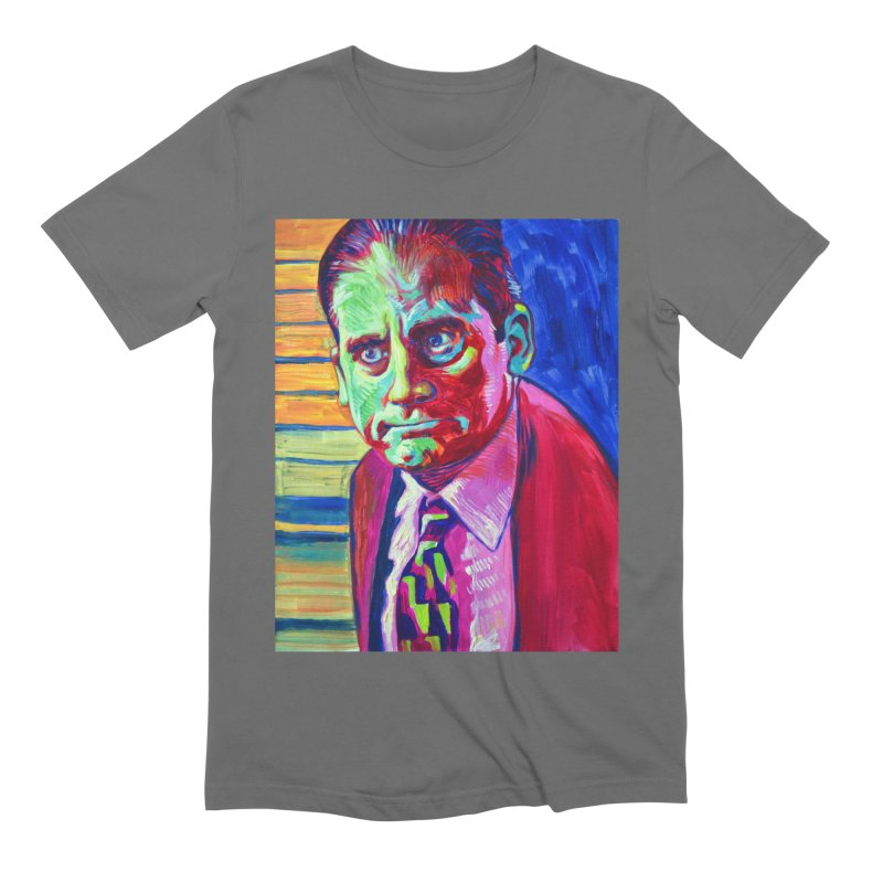 m. scott Men's Extra Soft T-Shirt by paintings by Seamus Wray