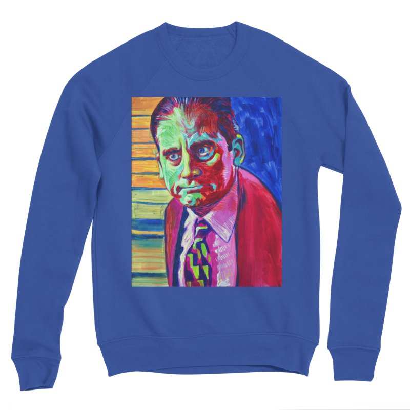 m. scott Men's Sponge Fleece Sweatshirt by paintings by Seamus Wray