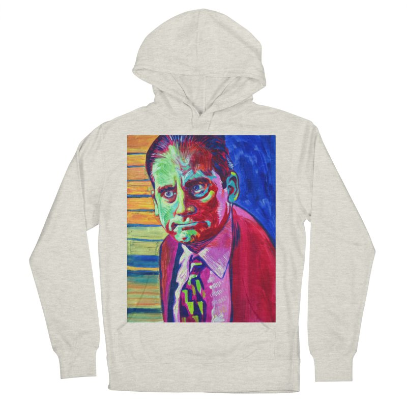 m. scott Women's French Terry Pullover Hoody by paintings by Seamus Wray