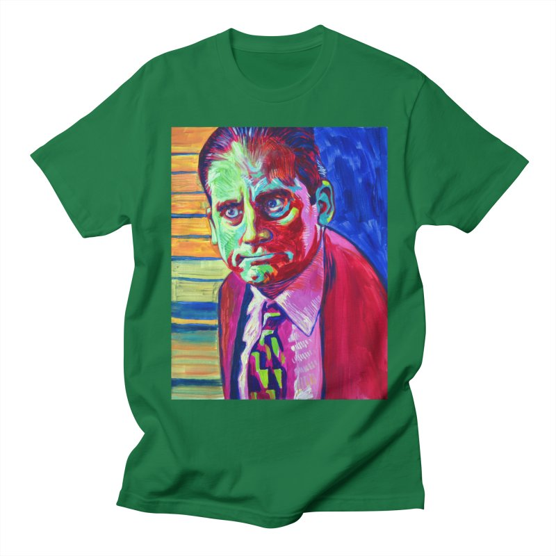 m. scott Men's Regular T-Shirt by paintings by Seamus Wray