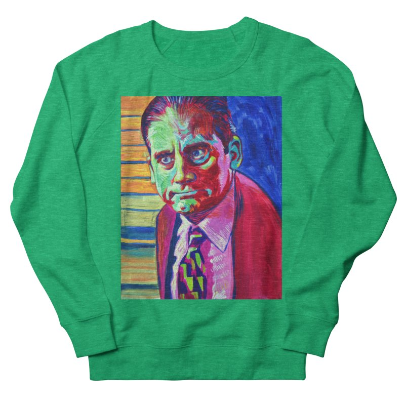 m. scott Women's French Terry Sweatshirt by paintings by Seamus Wray