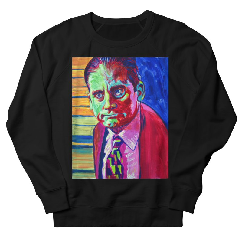 m. scott Men's French Terry Sweatshirt by paintings by Seamus Wray