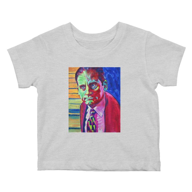 m. scott Kids Baby T-Shirt by paintings by Seamus Wray