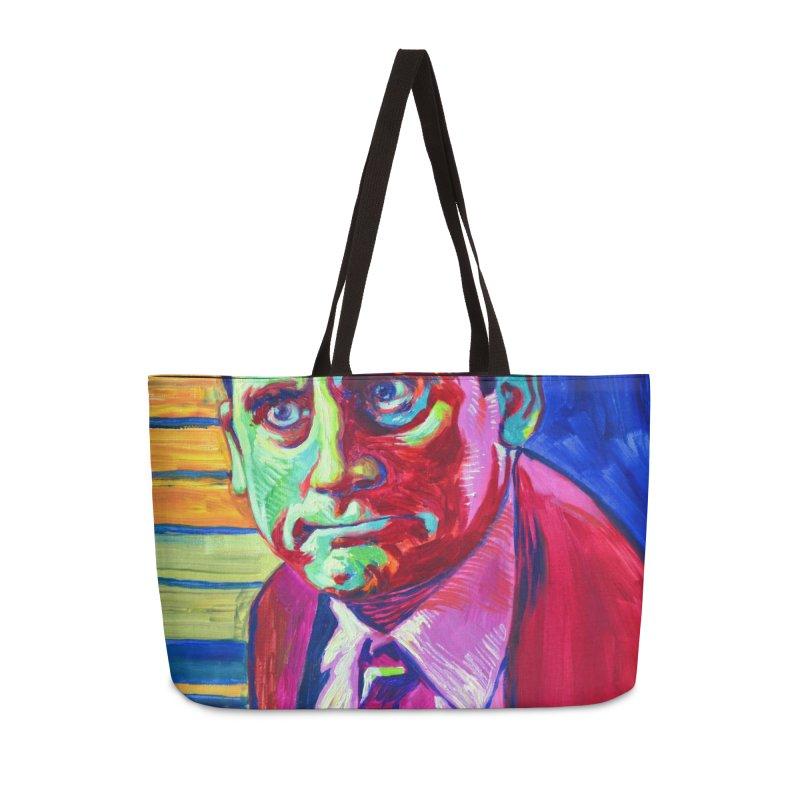 m. scott Accessories Weekender Bag Bag by paintings by Seamus Wray