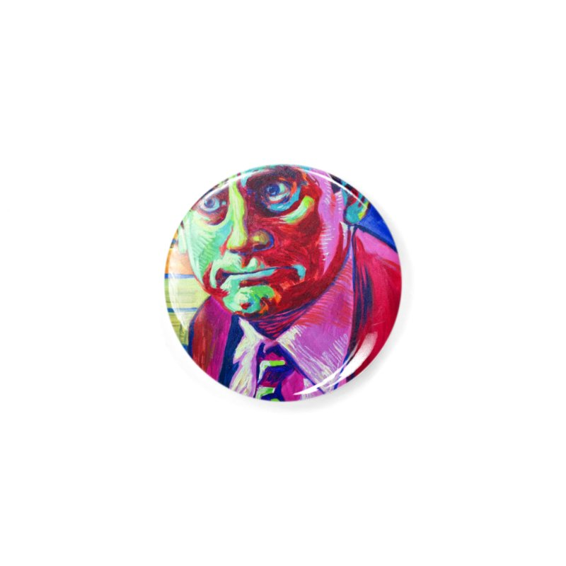 m. scott Accessories Button by paintings by Seamus Wray