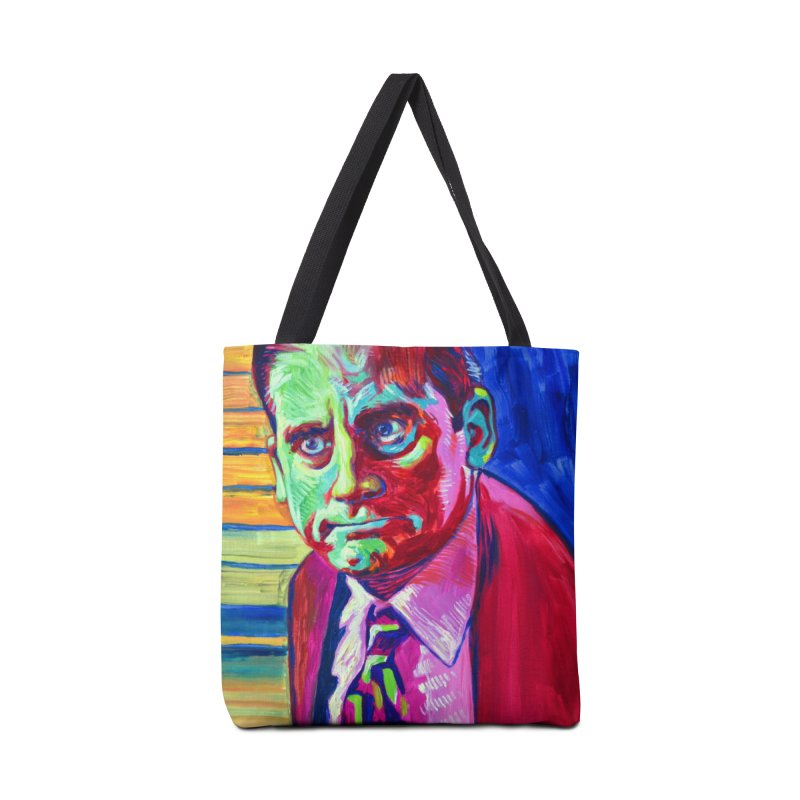 m. scott Accessories Tote Bag Bag by paintings by Seamus Wray