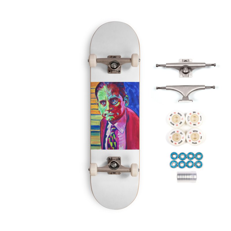 m. scott Accessories Complete - Premium Skateboard by paintings by Seamus Wray