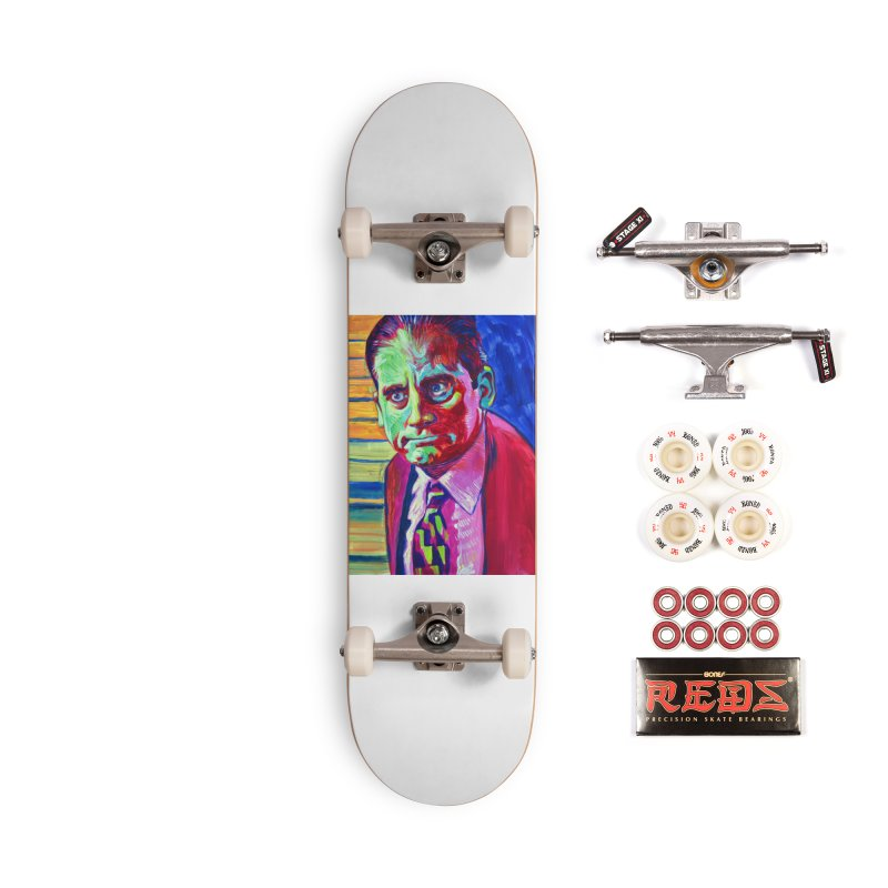m. scott Accessories Complete - Pro Skateboard by paintings by Seamus Wray