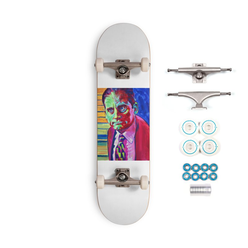 m. scott Accessories Complete - Basic Skateboard by paintings by Seamus Wray