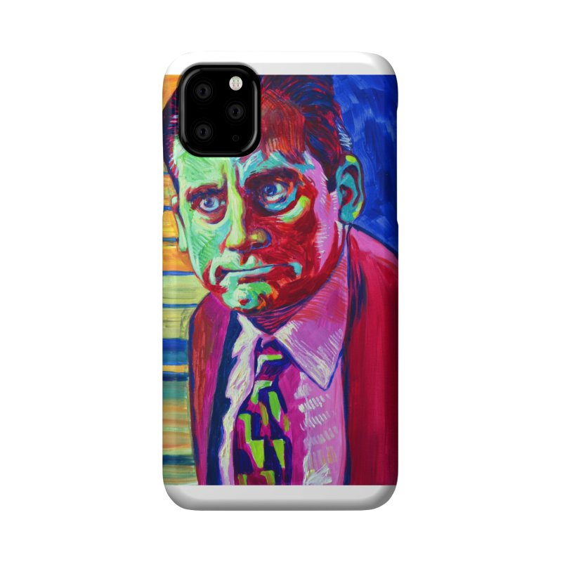 m. scott Accessories Phone Case by paintings by Seamus Wray