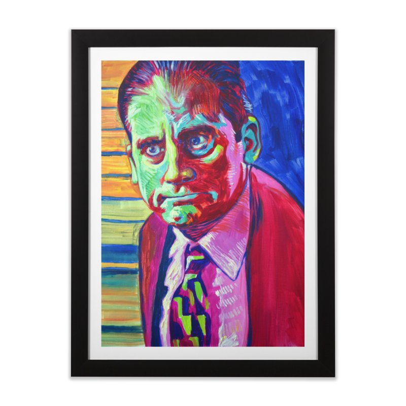 m. scott Home Framed Fine Art Print by paintings by Seamus Wray