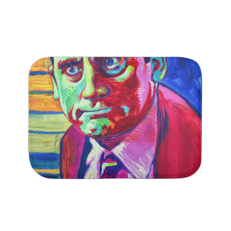 m. scott Home Bath Mat by paintings by Seamus Wray