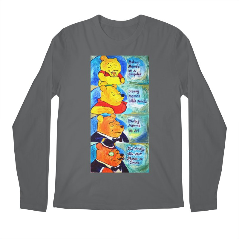 pooh Men's Longsleeve T-Shirt by paintings by Seamus Wray