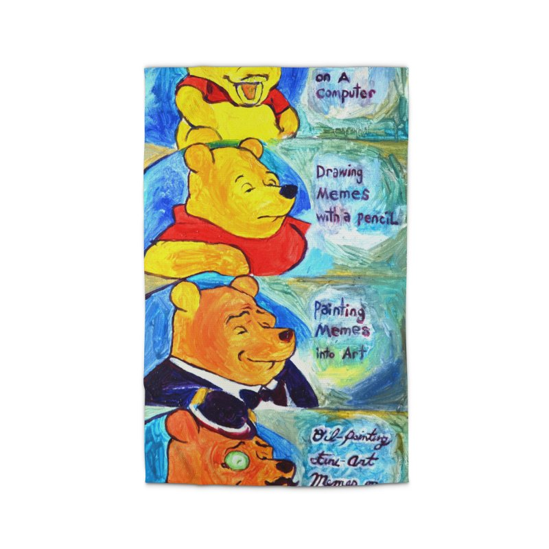 pooh Home Rug by paintings by Seamus Wray