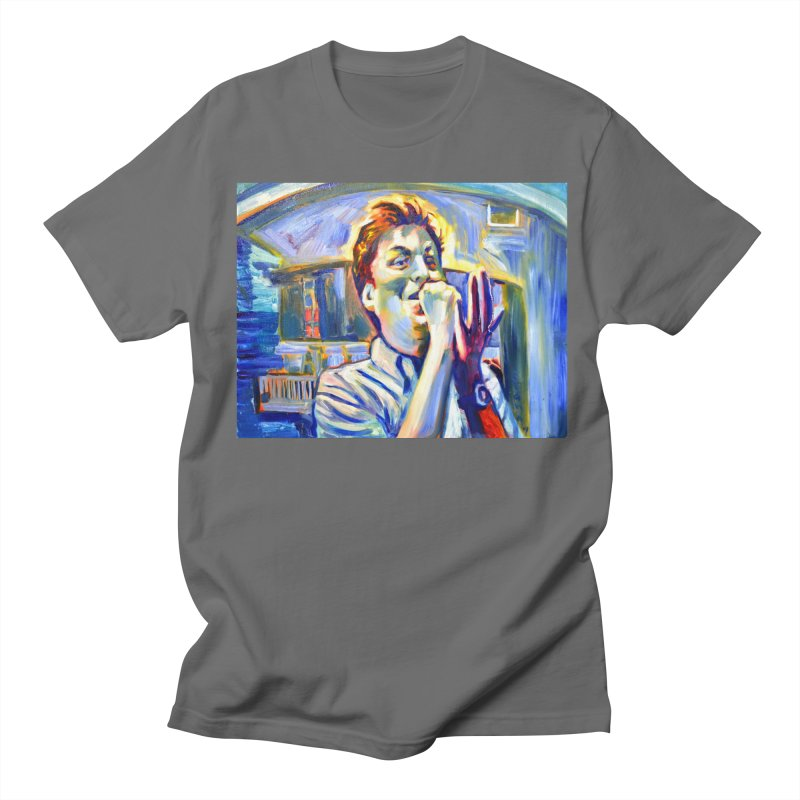 mayonegg Men's T-Shirt by paintings by Seamus Wray
