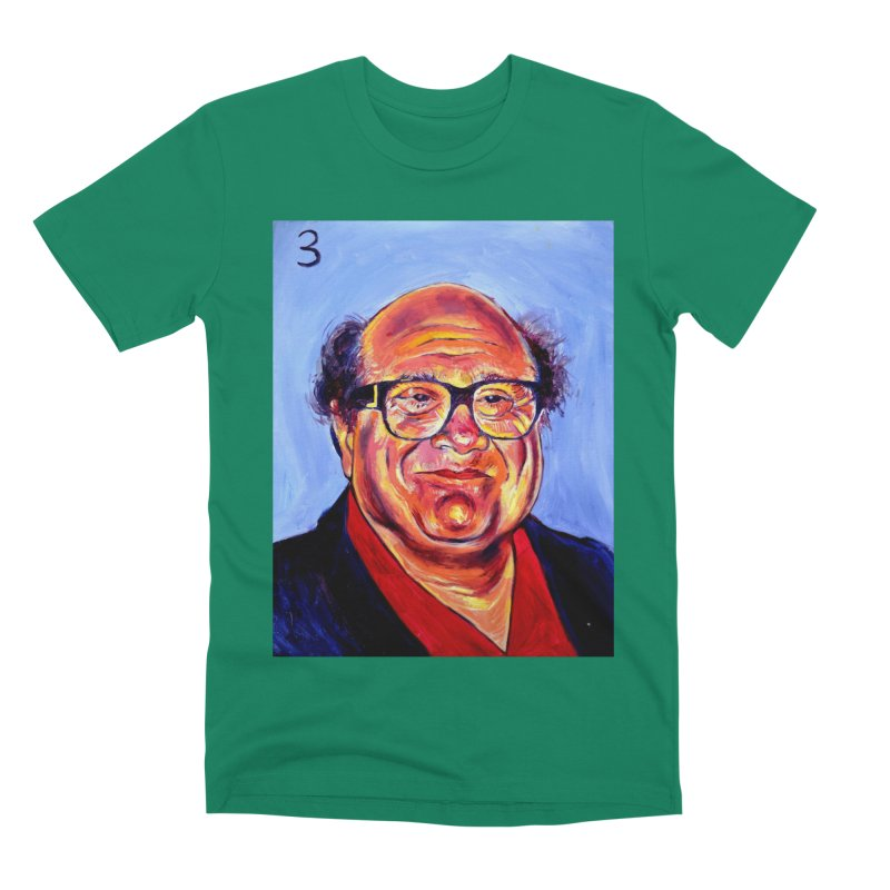 3 Men's Premium T-Shirt by paintings by Seamus Wray