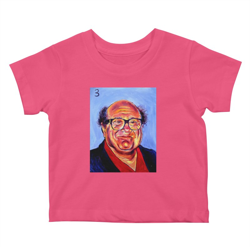 3 Kids Baby T-Shirt by paintings by Seamus Wray