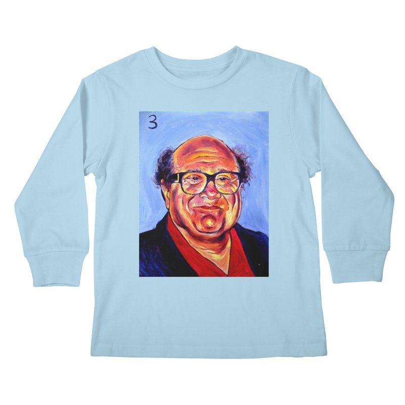 3 Kids Longsleeve T-Shirt by paintings by Seamus Wray
