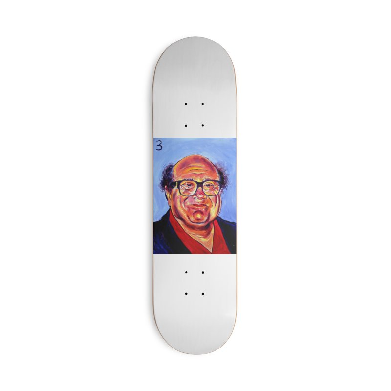 3 Accessories Deck Only Skateboard by paintings by Seamus Wray