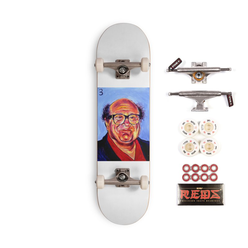 3 Accessories Complete - Pro Skateboard by paintings by Seamus Wray