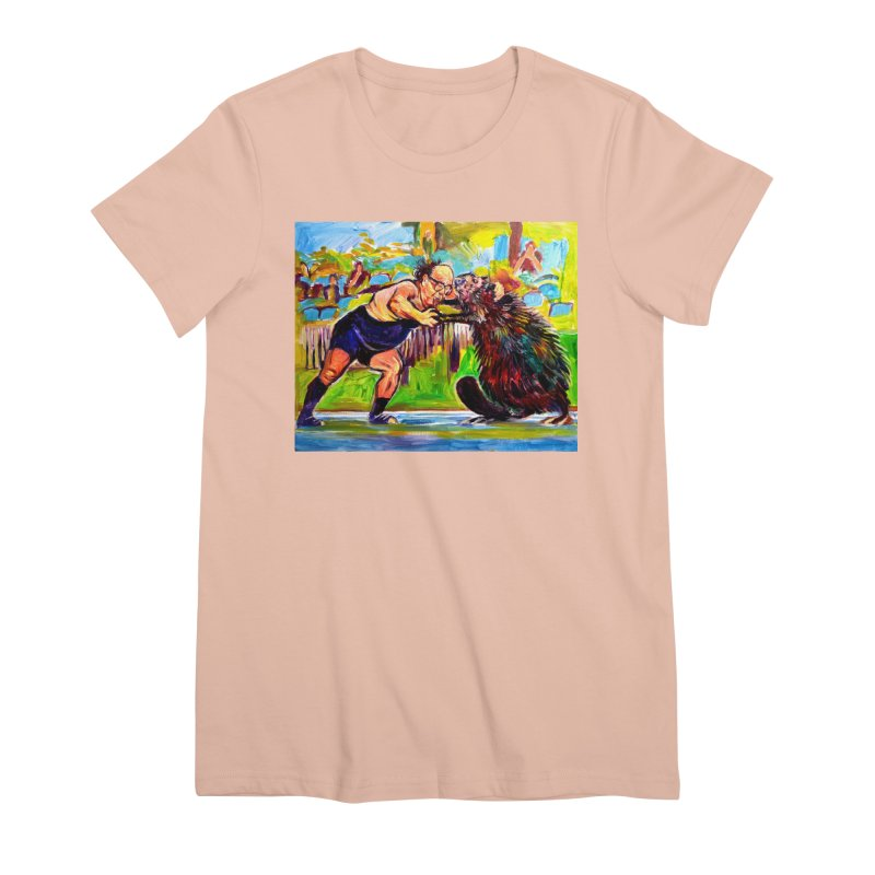 greco-roman Women's Premium T-Shirt by paintings by Seamus Wray