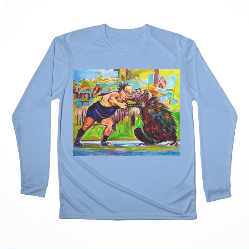 greco-roman Men's Performance Longsleeve T-Shirt by paintings by Seamus Wray