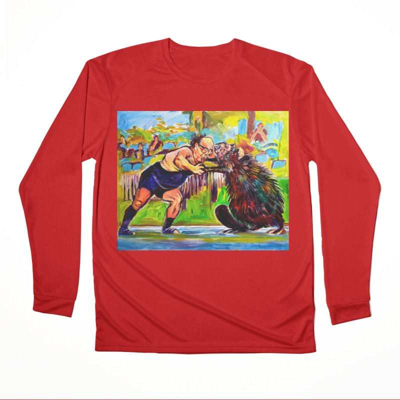 greco-roman Women's Performance Unisex Longsleeve T-Shirt by paintings by Seamus Wray