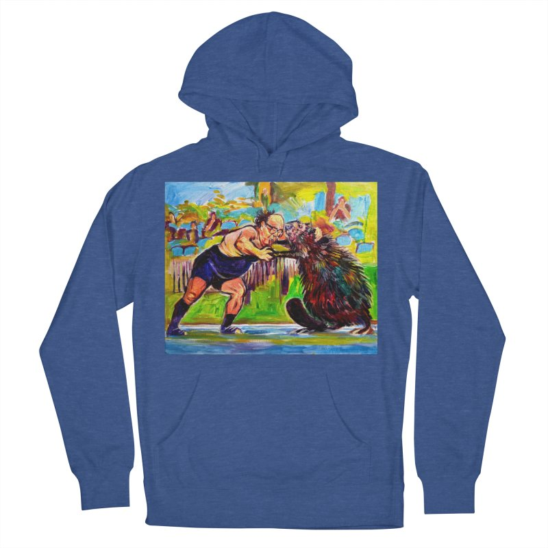 greco-roman Women's French Terry Pullover Hoody by paintings by Seamus Wray