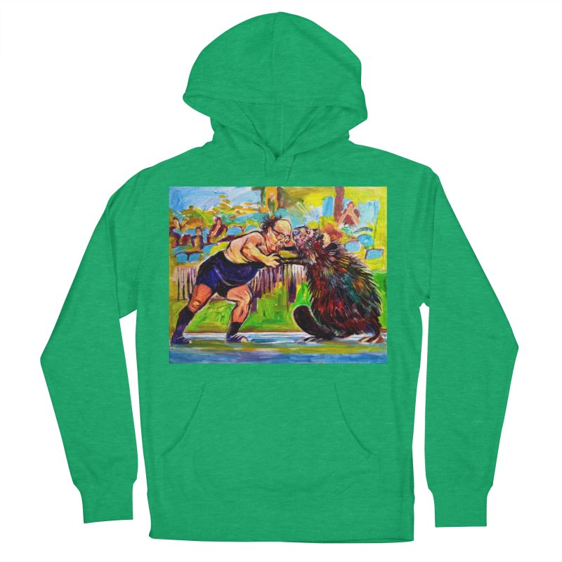 greco-roman Men's French Terry Pullover Hoody by paintings by Seamus Wray