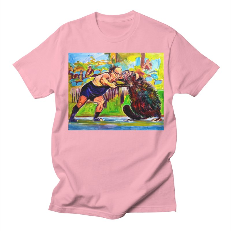 greco-roman Women's Regular Unisex T-Shirt by paintings by Seamus Wray