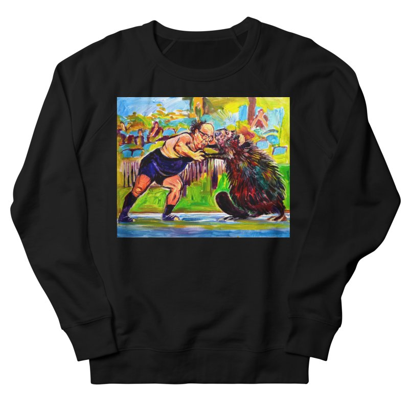 greco-roman Women's French Terry Sweatshirt by paintings by Seamus Wray