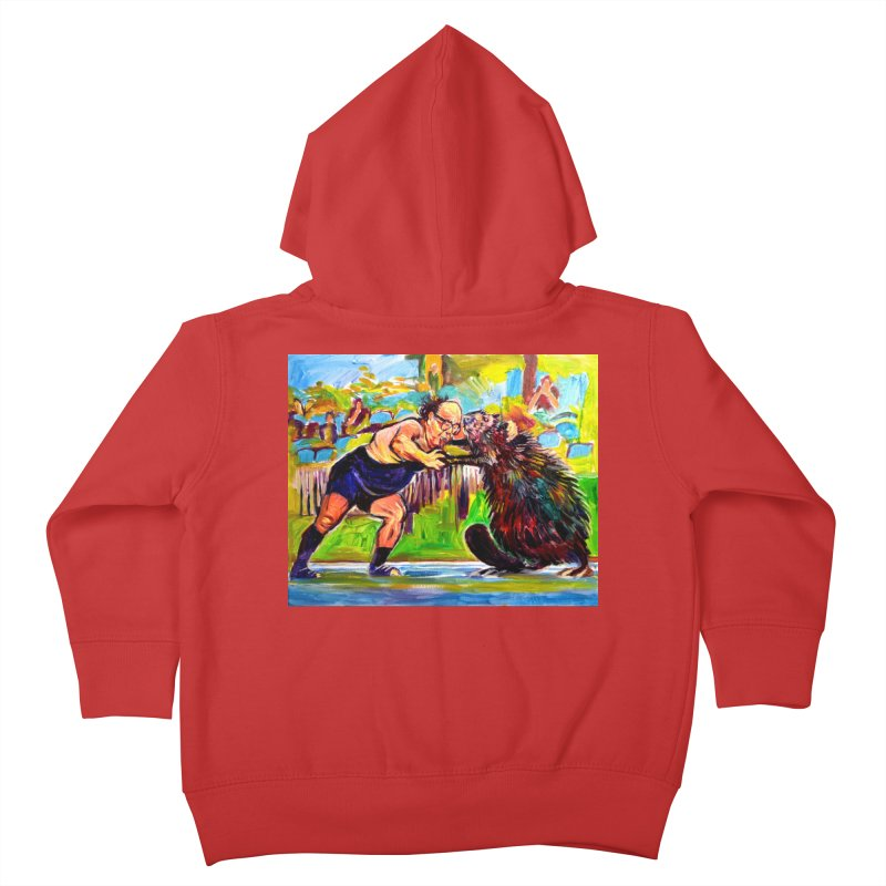 greco-roman Kids Toddler Zip-Up Hoody by paintings by Seamus Wray