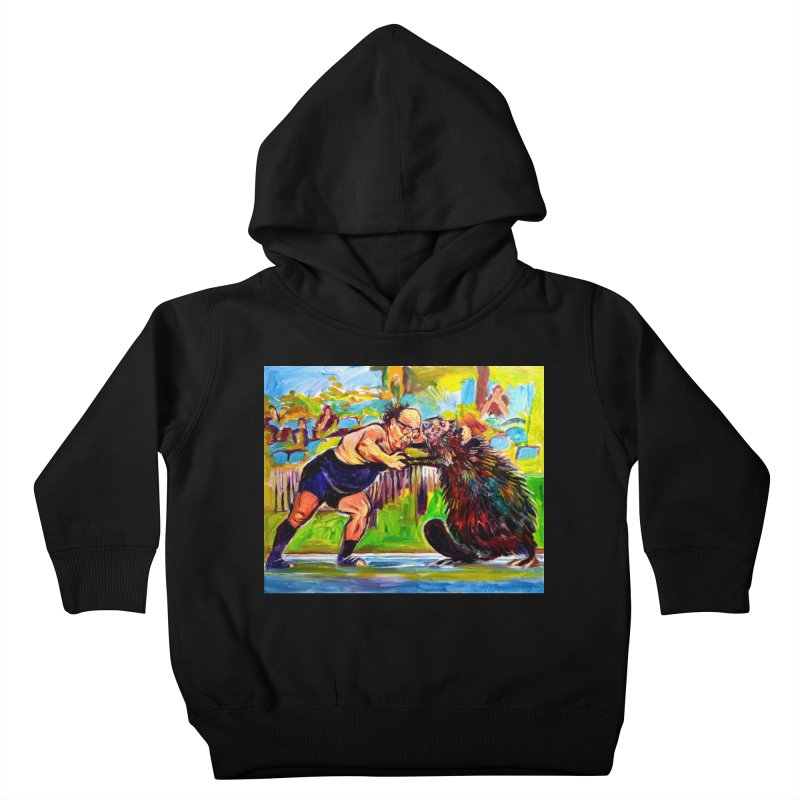 greco-roman Kids Toddler Pullover Hoody by paintings by Seamus Wray