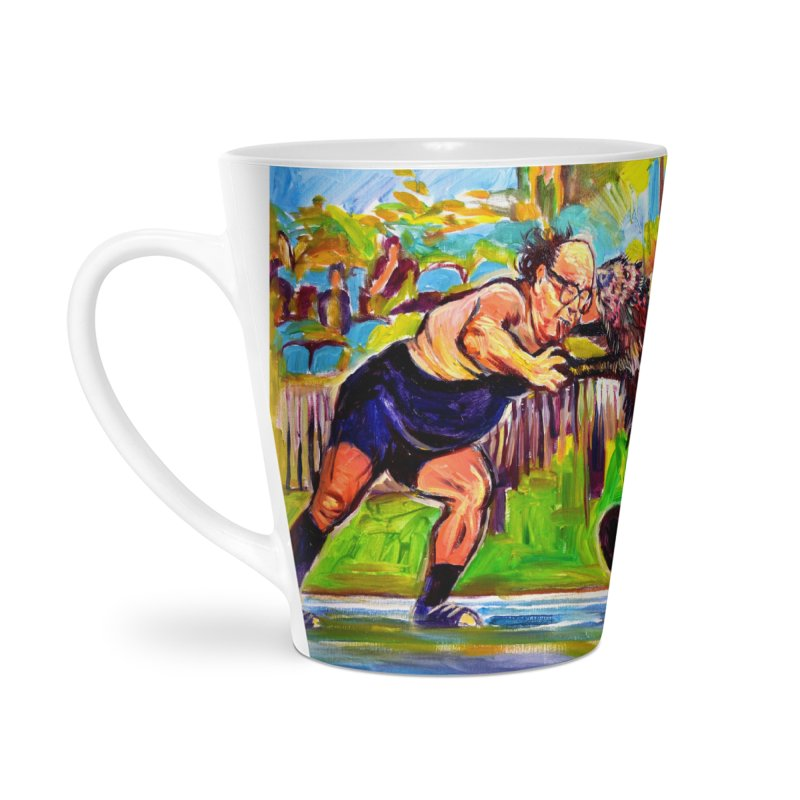 greco-roman Accessories Latte Mug by paintings by Seamus Wray