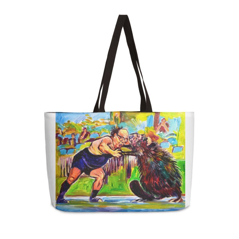 greco-roman Accessories Weekender Bag Bag by paintings by Seamus Wray