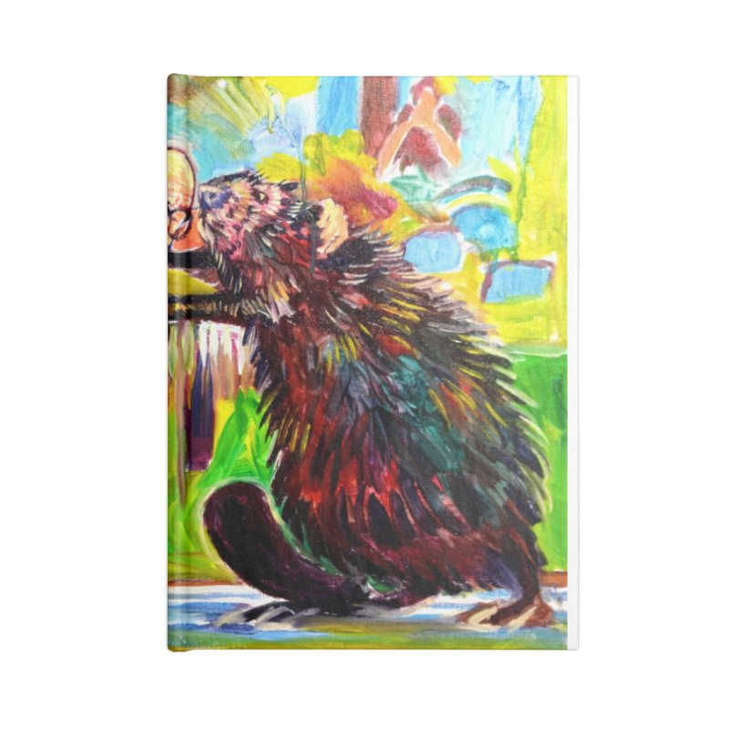 greco-roman Accessories Blank Journal Notebook by paintings by Seamus Wray