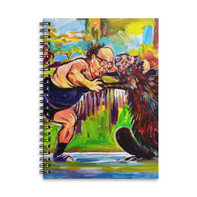 greco-roman Accessories Lined Spiral Notebook by paintings by Seamus Wray