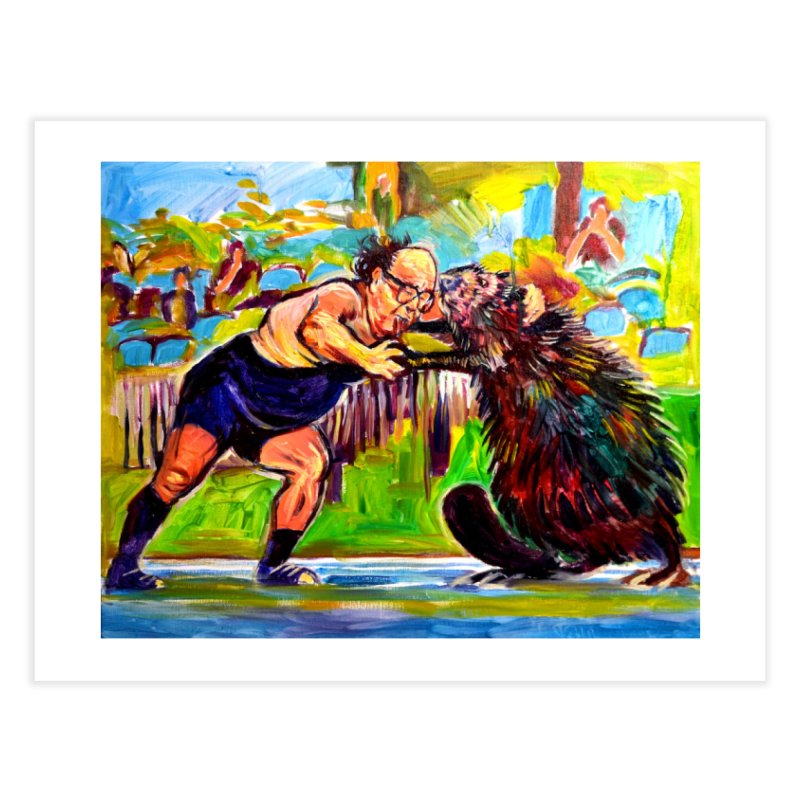 greco-roman Home Fine Art Print by paintings by Seamus Wray