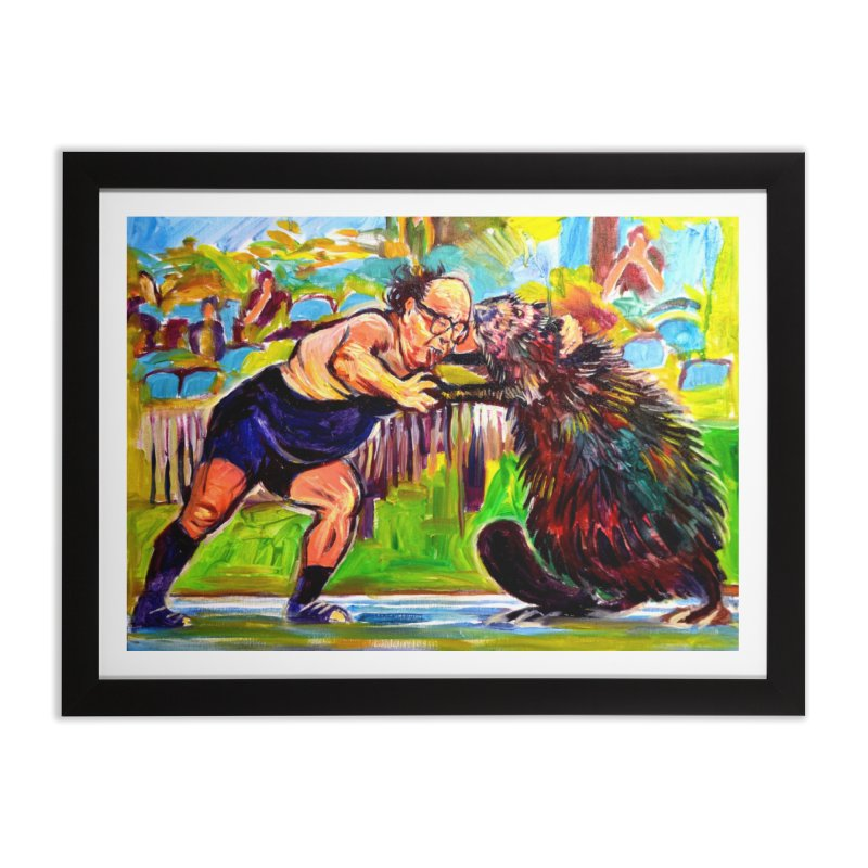 greco-roman Home Framed Fine Art Print by paintings by Seamus Wray