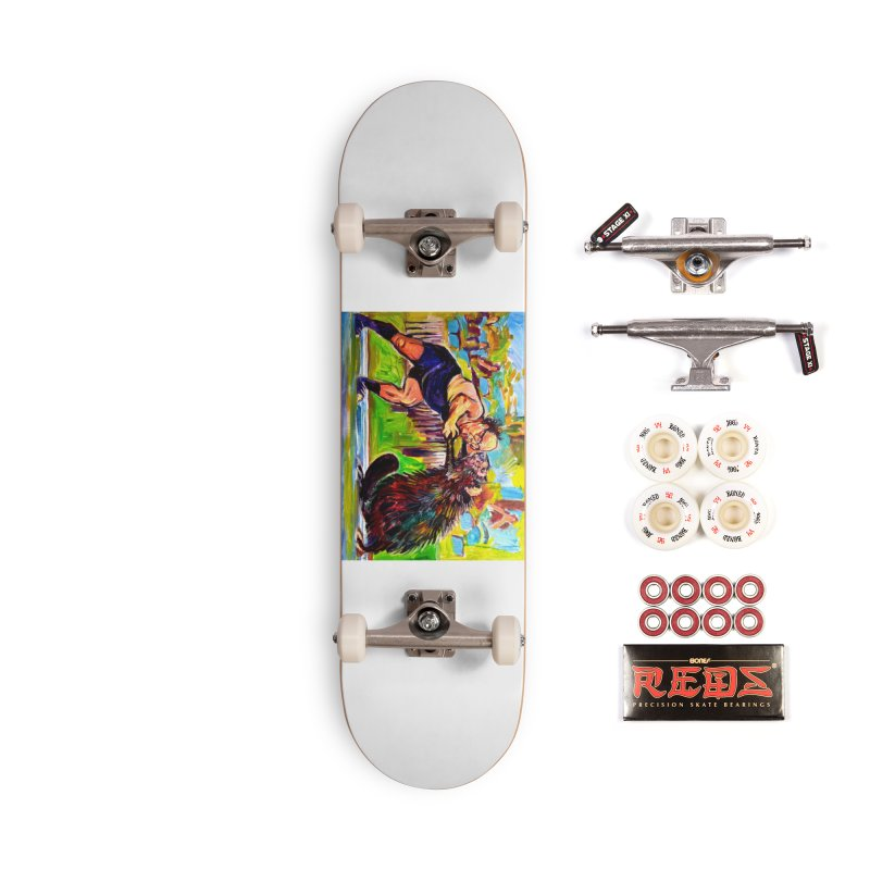 greco-roman Accessories Complete - Pro Skateboard by paintings by Seamus Wray
