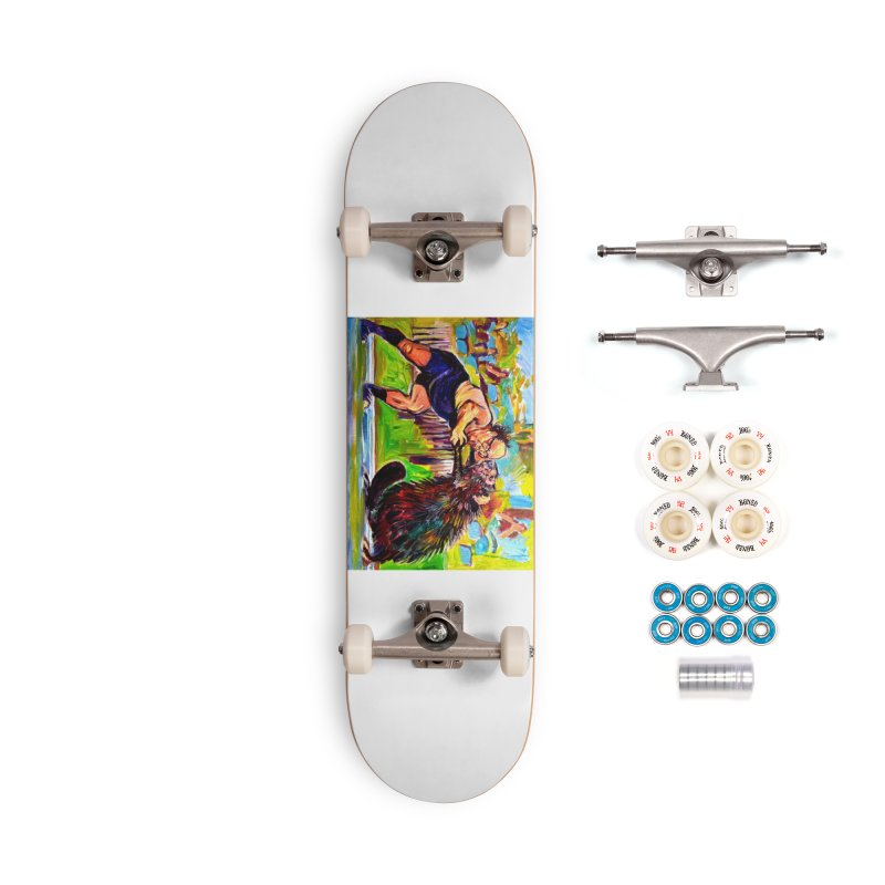 greco-roman Accessories Complete - Premium Skateboard by paintings by Seamus Wray