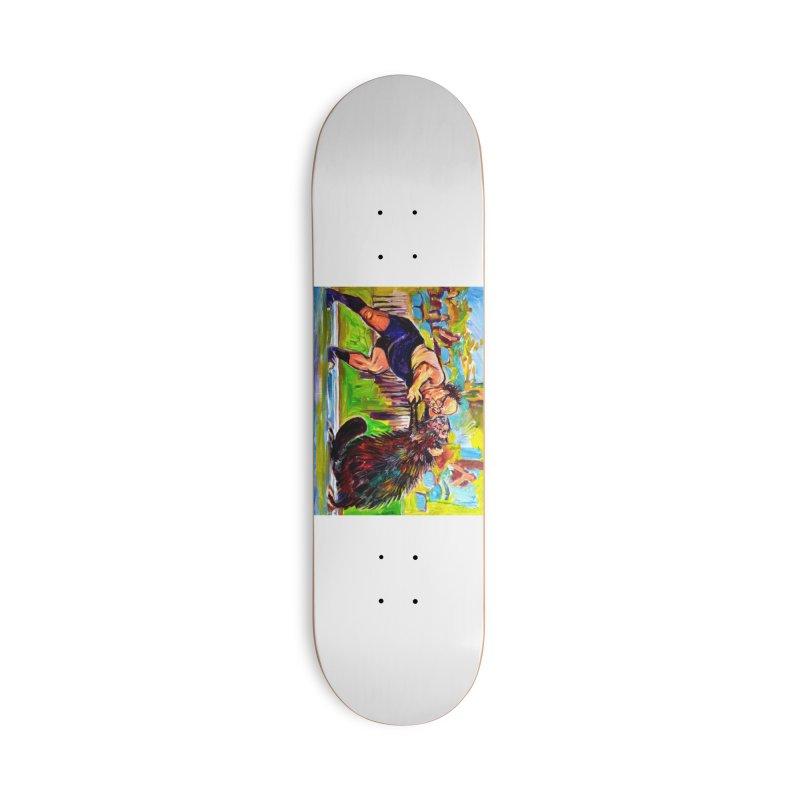 greco-roman Accessories Deck Only Skateboard by paintings by Seamus Wray
