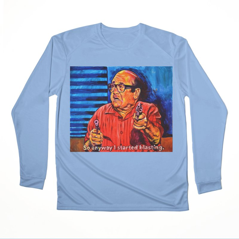 blasting Men's Performance Longsleeve T-Shirt by paintings by Seamus Wray