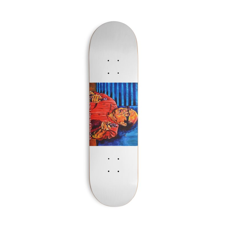 blasting Accessories Deck Only Skateboard by paintings by Seamus Wray