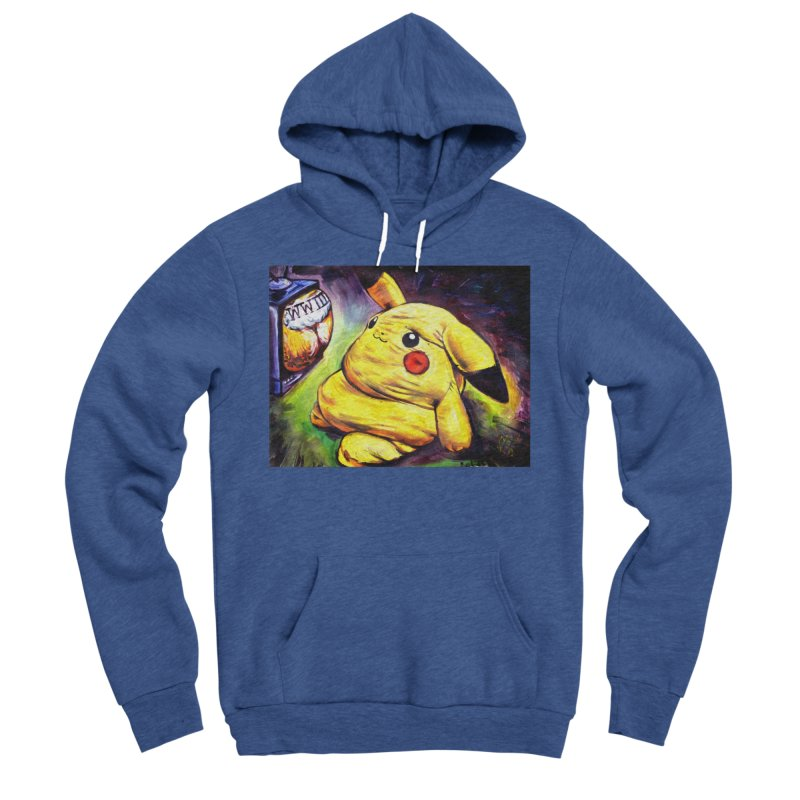 WWIII Men's Sponge Fleece Pullover Hoody by paintings by Seamus Wray