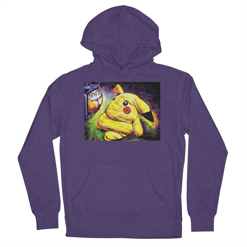 WWIII Women's French Terry Pullover Hoody by paintings by Seamus Wray