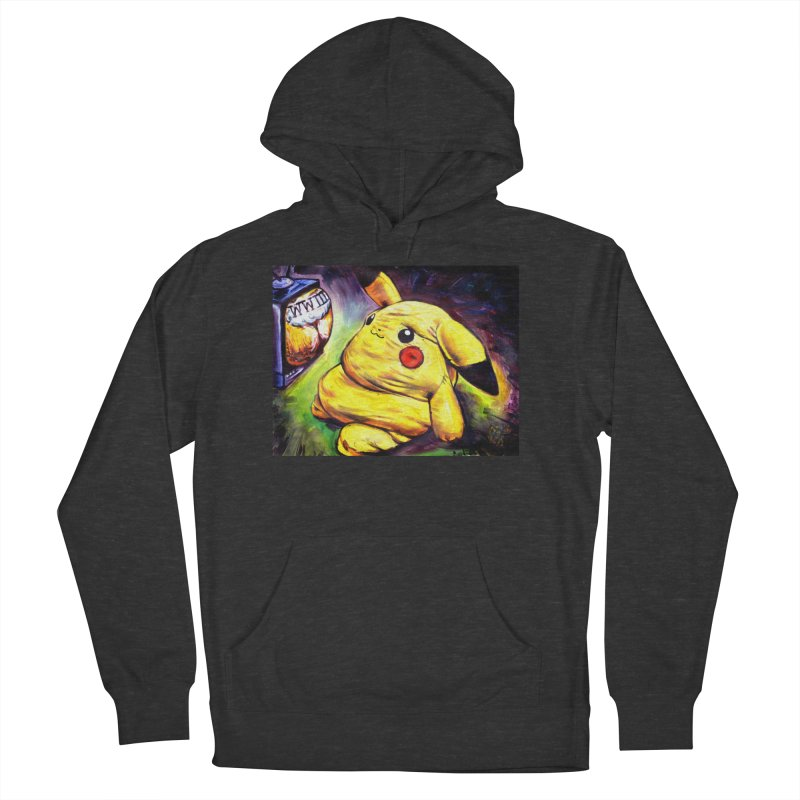 WWIII Men's French Terry Pullover Hoody by paintings by Seamus Wray
