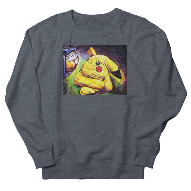 WWIII Women's French Terry Sweatshirt by paintings by Seamus Wray