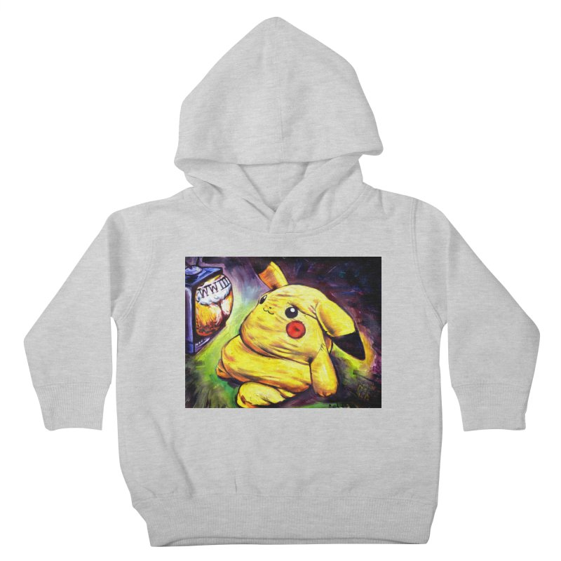 WWIII Kids Toddler Pullover Hoody by paintings by Seamus Wray