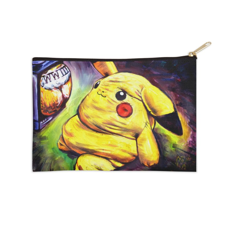 WWIII Accessories Zip Pouch by paintings by Seamus Wray